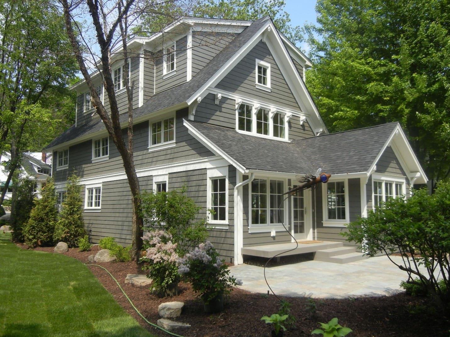 traditional custom home
