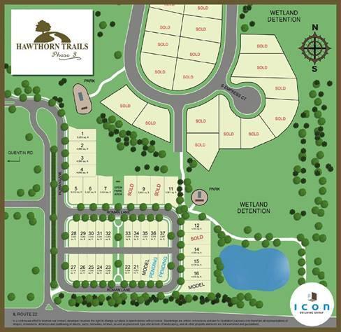 Hawthorn Woods siteplan