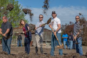building custom homes for wounded warriors