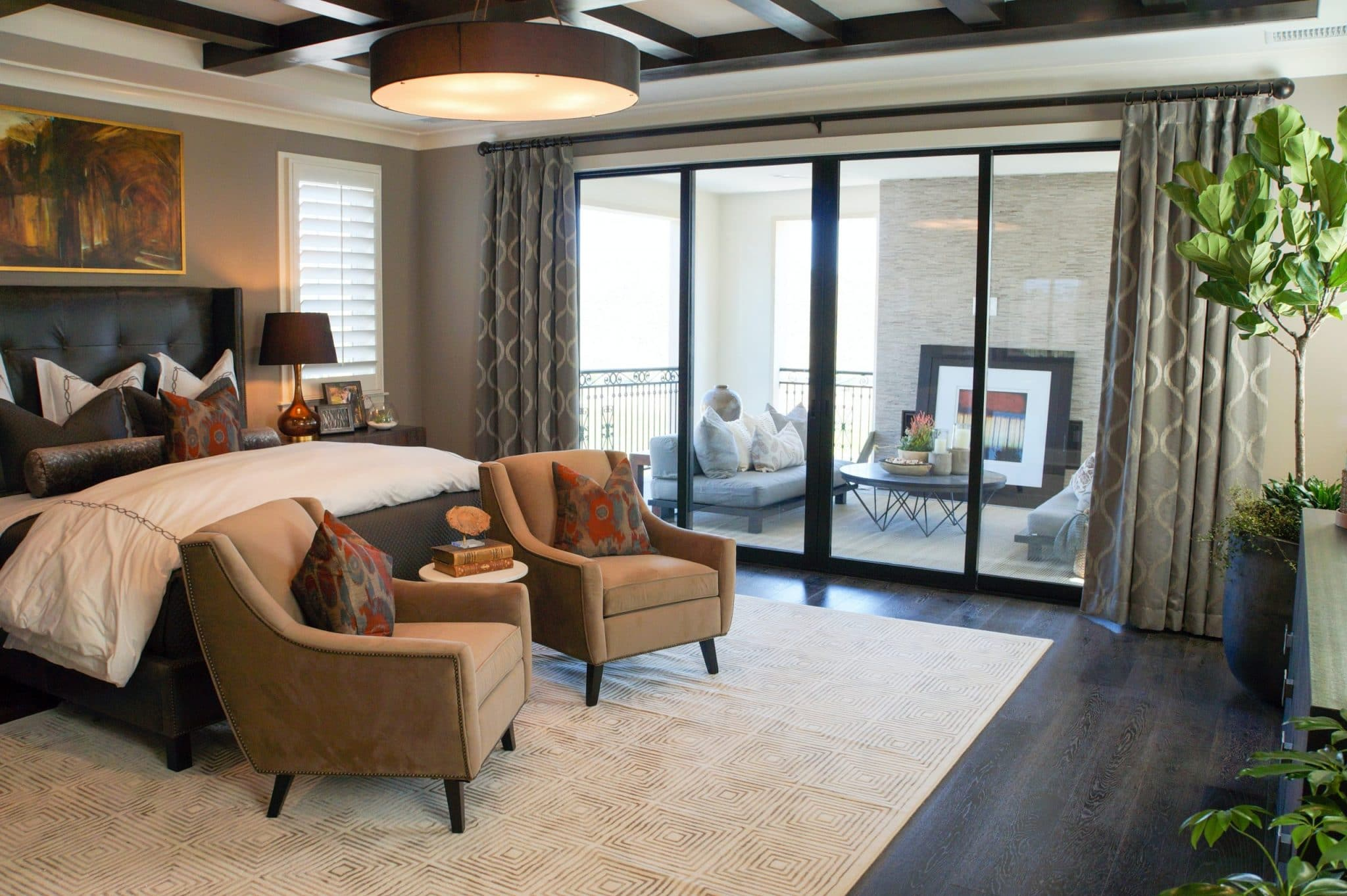 4 Ideas for Designing the Perfect Master Bedroom for Your Custom Home